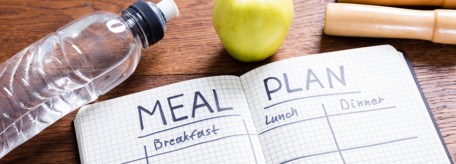 Book with a meal plan